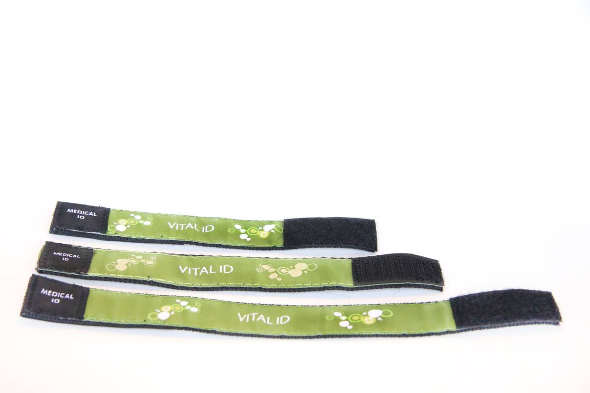 ID-bånd olivengrønn 26 cm